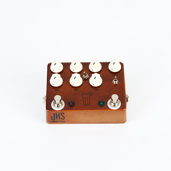 JHS Sweet Tea Overdrive Pedal Front