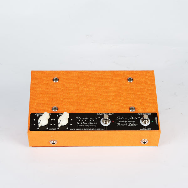 Van Amps Sole-Mate Spring Reverb Pedal Front