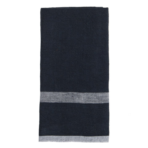 Laundered Linen Towels, Set of 2