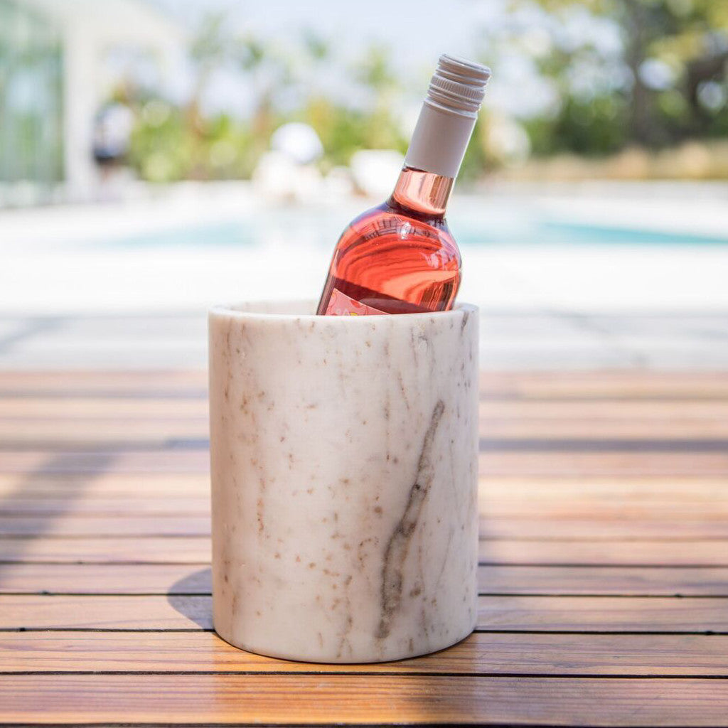 Marble Grande Wine Canister