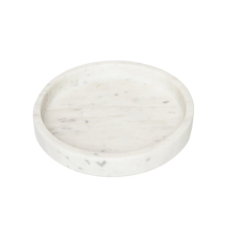 Marble Petite Round Tray