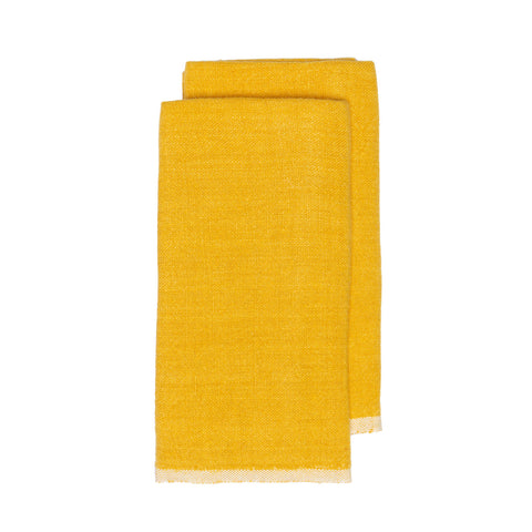 Chunky Linen Towels, Set of 2