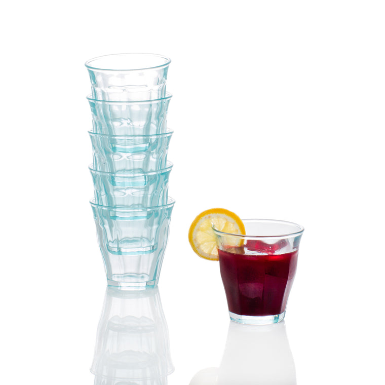 Bistro Glasses Blue, Set of 6