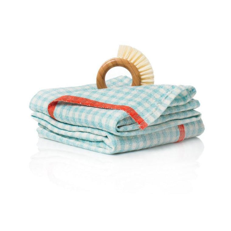 two_tone_gingham_towels_aqua_orange_1