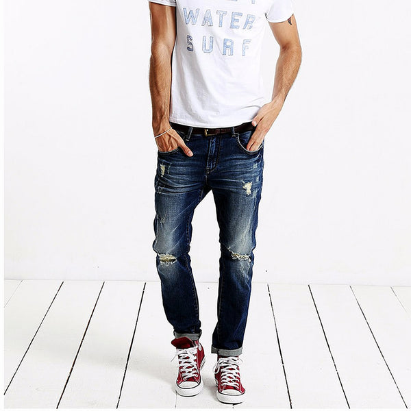 Simwood 2016 Light Blue Denim Jeans