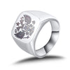 Eagle Stainless Steel Ring - Silver