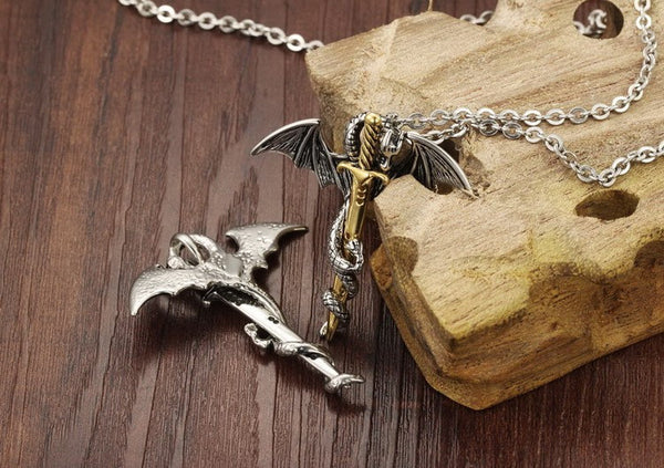 Pterosaur Sword Silva Pendant Necklace
