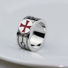 CLASSIC ASSASSINS STAINLESS STEEL TEMPLAR RING