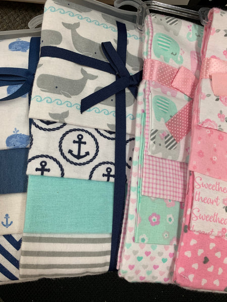 4-Pack Swaddles