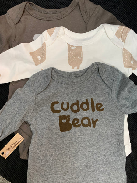 Boy Long Sleeve Onesie