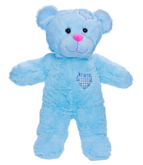 "16 INCH ""BABY BLUE"" PATCHES BEAR"