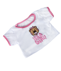 A 8 INCH BABY GIRL T-SHIRT