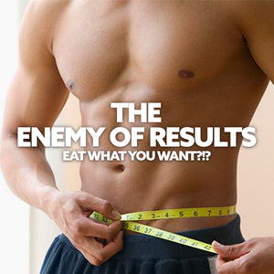 The TRUE ENEMY to results. Not carbs or fats...