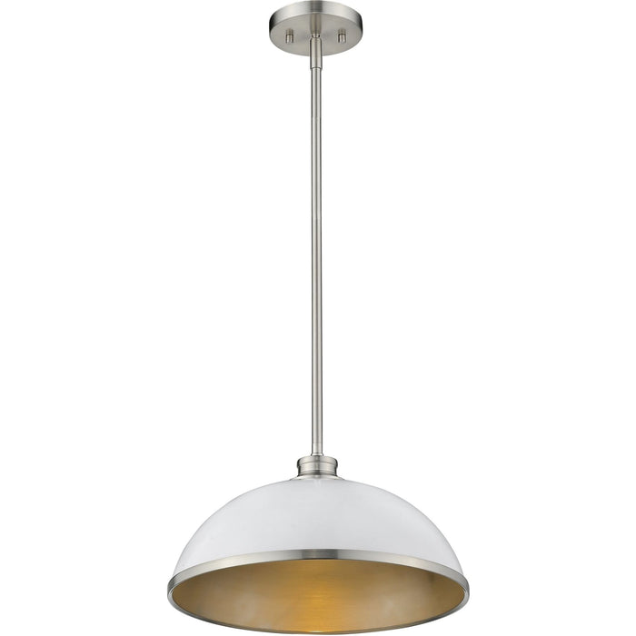 Citadel Brushed Nickel Pendant - Pendant