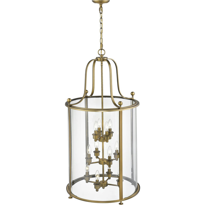 Wyndham Heirloom Brass Chandelier - Chandelier