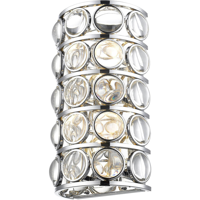 Eternity Chrome Wall Sconce - Wall Sconce
