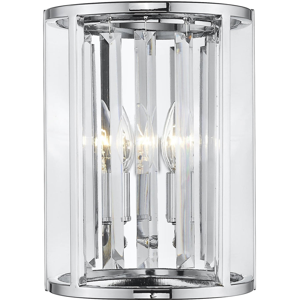 Monarch Chrome Wall Sconce - Wall Sconce