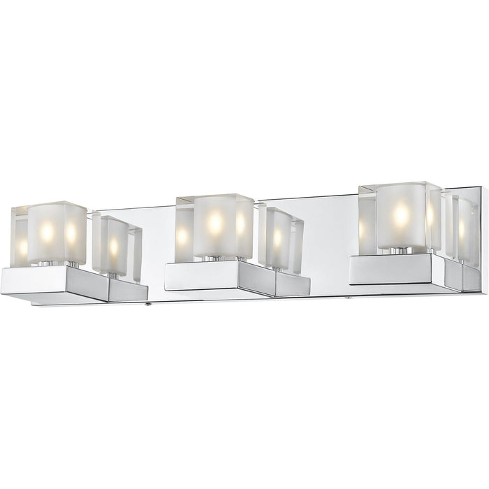 Fallon Chrome LED Vanity - Vanity