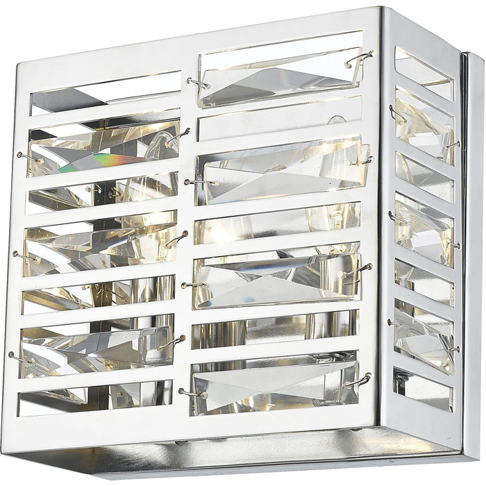 Cronise Chrome Wall Sconce - Wall Sconce