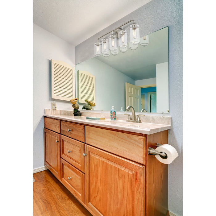Delaney Brushed Nickel Vanity - Vanity