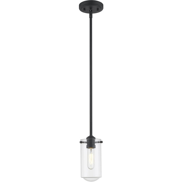 Delaney Matte Black Mini Pendant - Mini Pendant