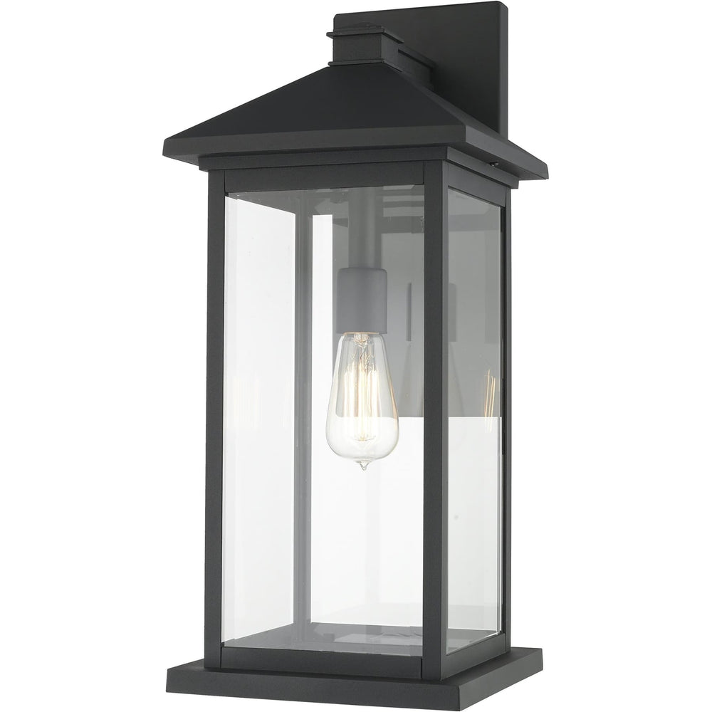 Portland Black Outdoor Wall Sconce - Outdoor Wall Sconce