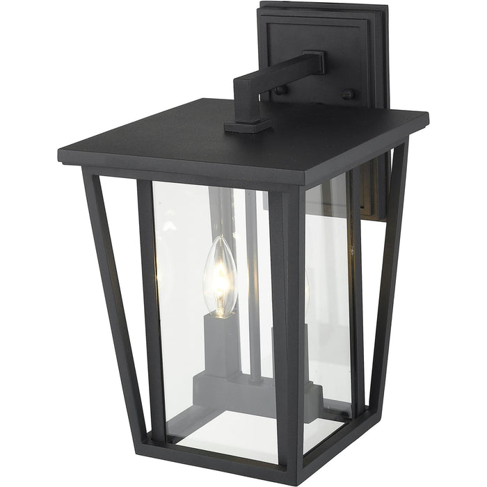 Seoul Black Outdoor Wall Sconce - Outdoor Wall Sconce