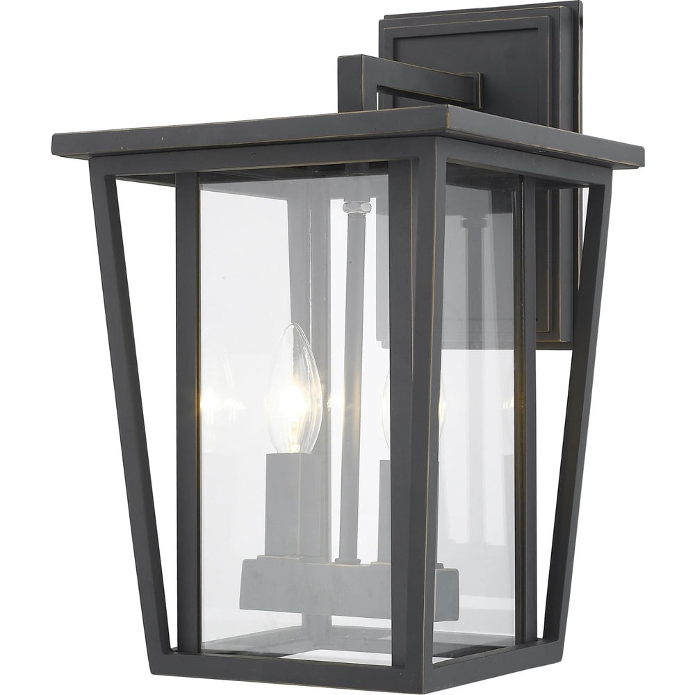 Seoul Oil Rubbed Bronze Outdoor Wall Sconce - Outdoor Wall Sconce