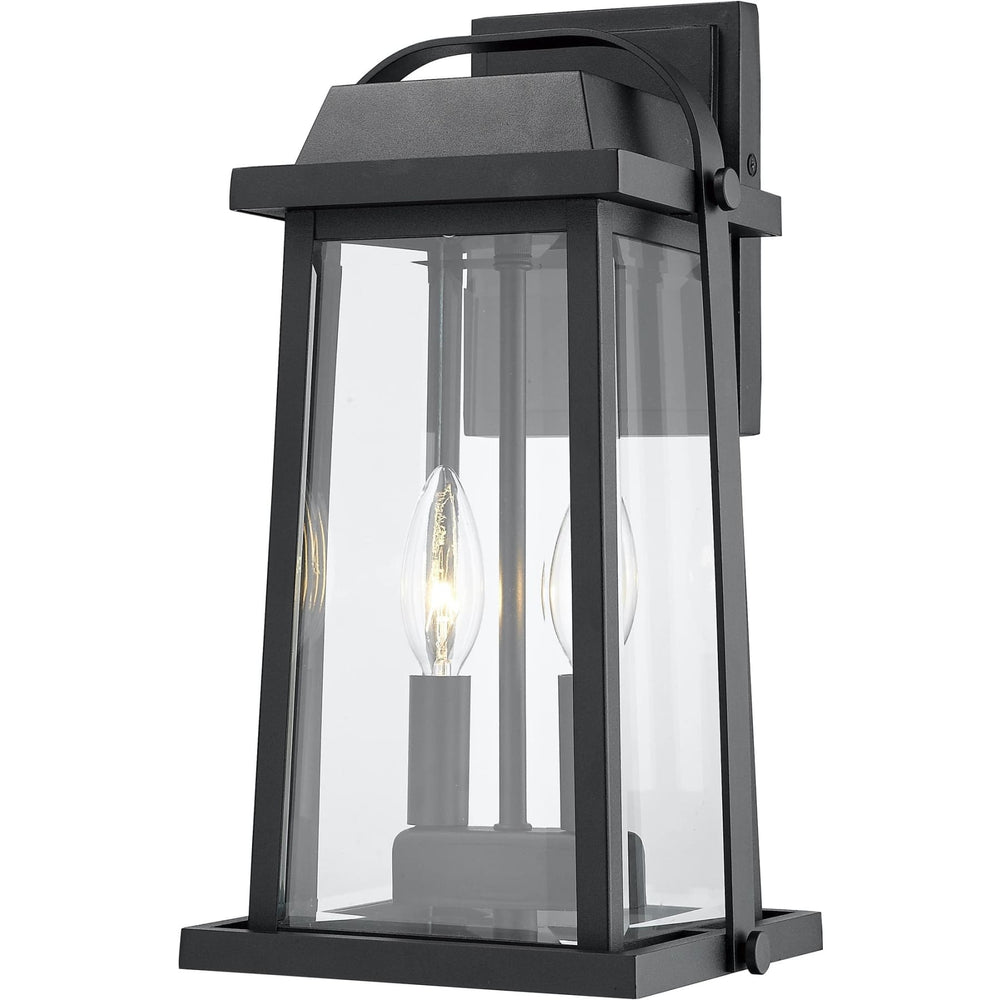 Millworks Black Outdoor Wall Sconce - Outdoor Wall Sconce