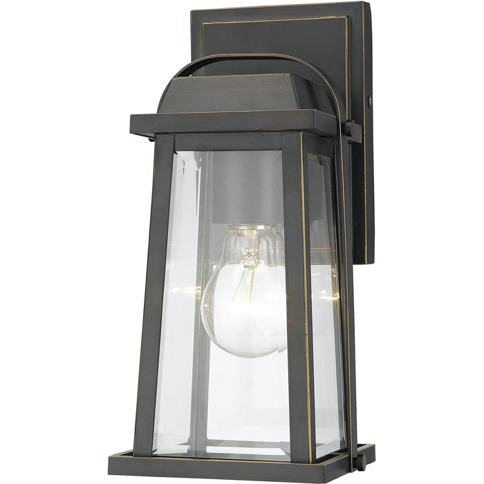Millworks Oil Rubbed Bronze Outdoor Wall Sconce - Outdoor Wall Sconce