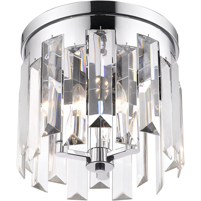 Cormac Chrome Flush Mount - Flush Mount