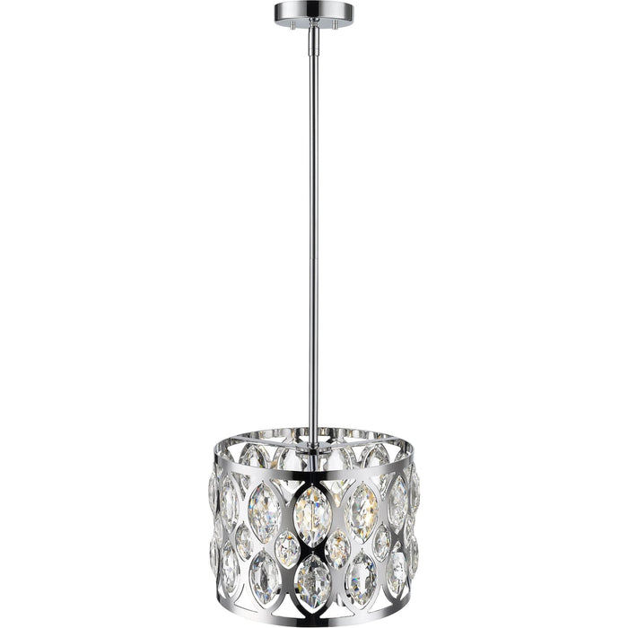 Dealey Chrome Chandelier - Chandelier