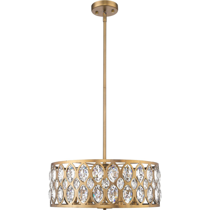 Dealey Heirloom Brass Chandelier - Chandelier