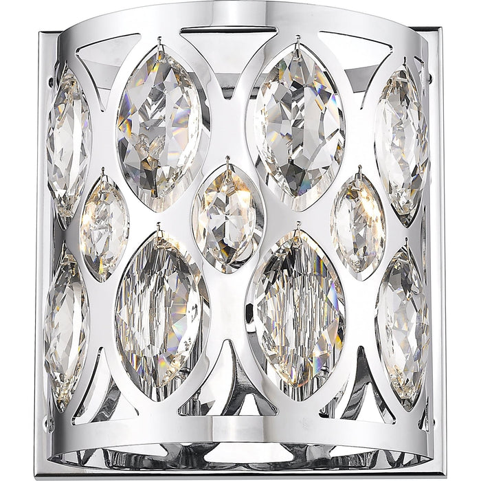 Dealey Chrome Wall Sconce - Wall Sconce