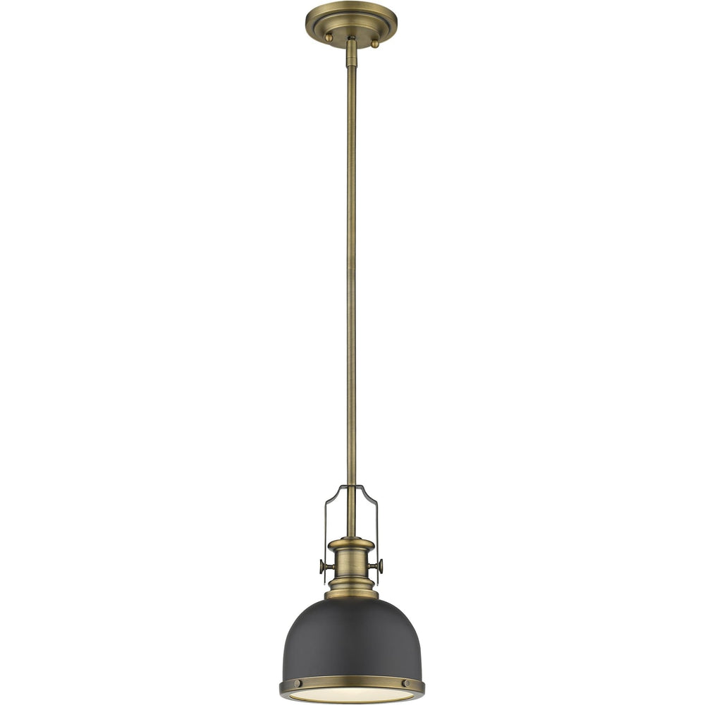 Melange Bronze and Heritage Brass Mini Pendant - Mini Pendant