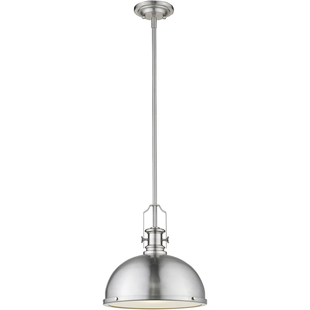 Melange Brushed Nickel Pendant - Pendant