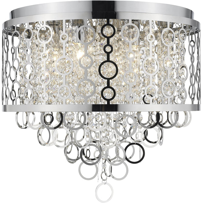 Bijou Chrome Flush Mount - Flush Mount