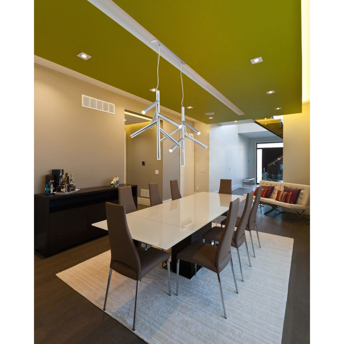 Forest Chrome LED Pendant - Pendant