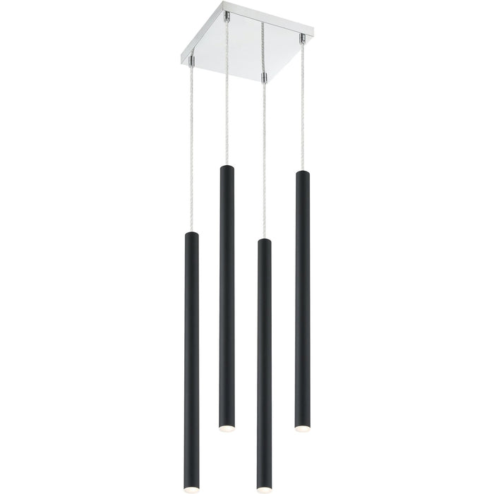 Forest Matte Black LED Island/Billiard - Island/Billiard