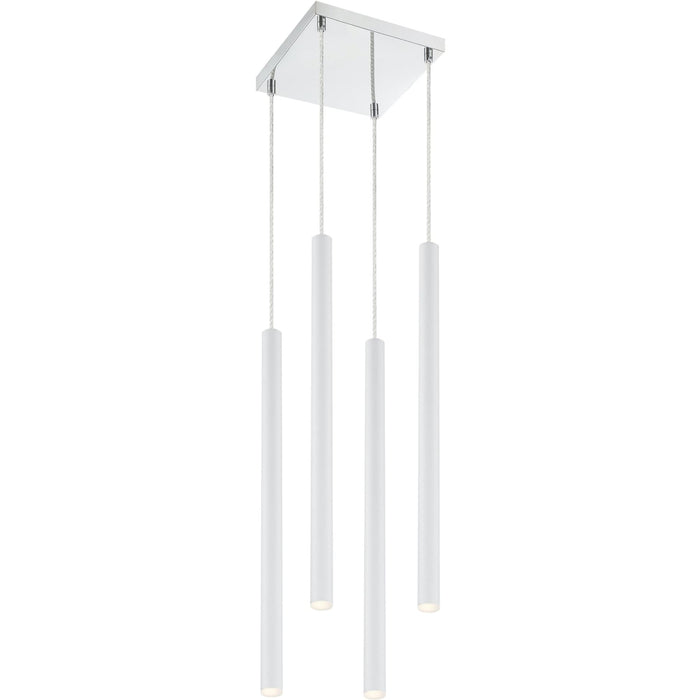 Forest Matte White LED Island/Billiard - Island/Billiard