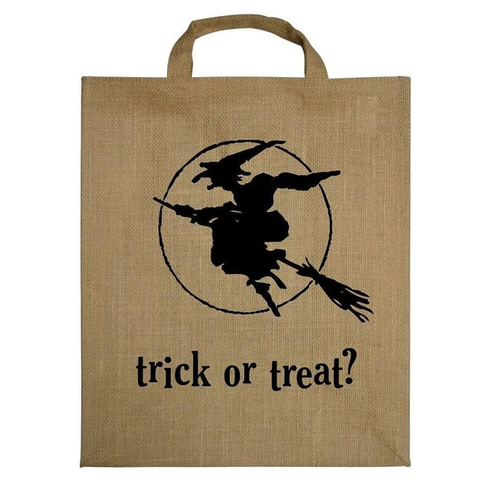 Haunted House and Witch Reuseable Tote