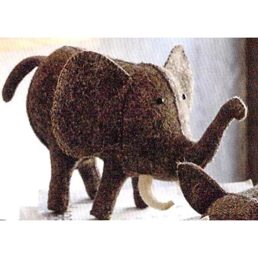 Safari Elephant Felt Piggy Bank