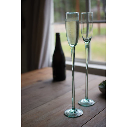 Champagne Flutes Recycled Sky High - Glassware_Champagne