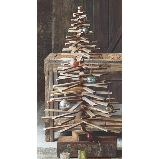 Roost Recycled Wood Tree Medium - Holiday_Winter
