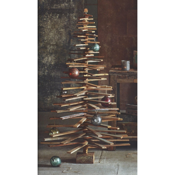 Roost Recycled Wood Tree Large - Holiday_Winter