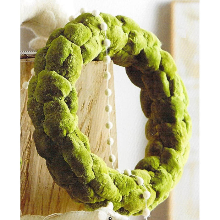Cattail Green Wreath - Holiday_Winter