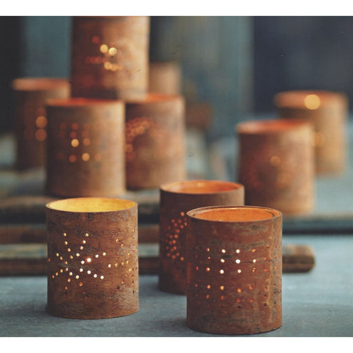 Cinnamon Bark Tealight Holders