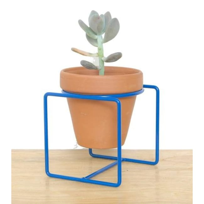 Table Planter Blue Medium - Planters_Table