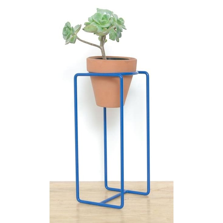 Table Planter Blue Small - Planters_Table