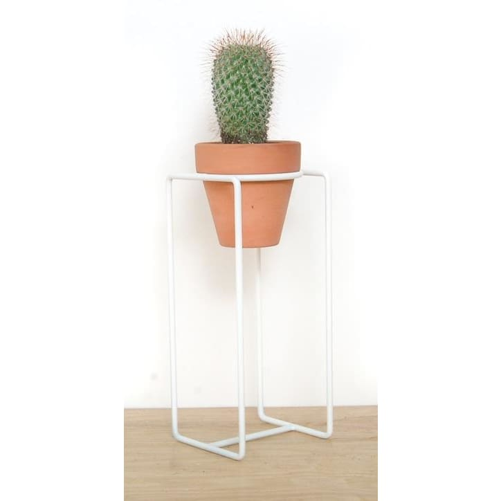 Table Planter White Small - Planters_Table